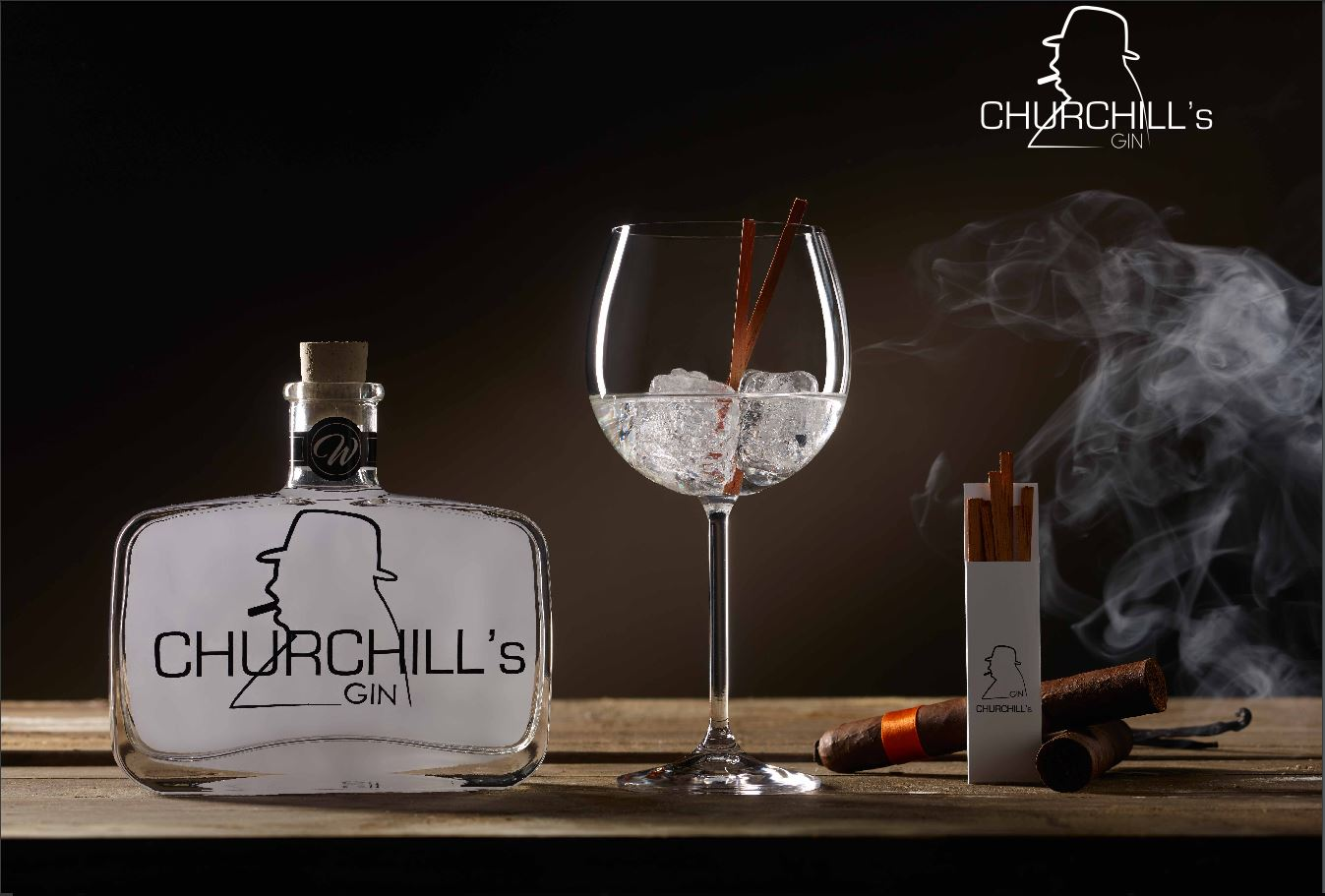 CHURCHILL'S GIN