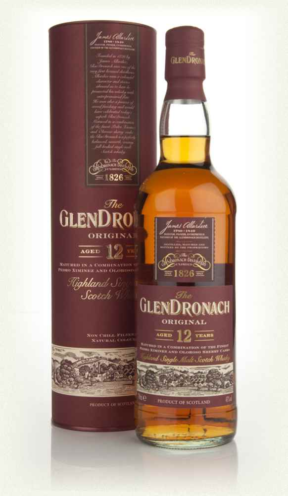 WHISKY GLENDRONACH 12 YEARS OLD